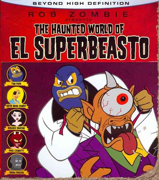 HAUNTED WORLD OF EL SUPERBEASTO BY ZOMBIE,ROB (Blu-Ray)